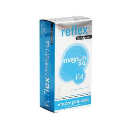 REFLEX PRESERVATIVO MAGNUM XXL 114 12 4