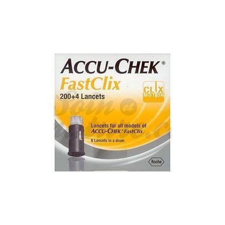 Accu-Chek 204 llancetes FastClix