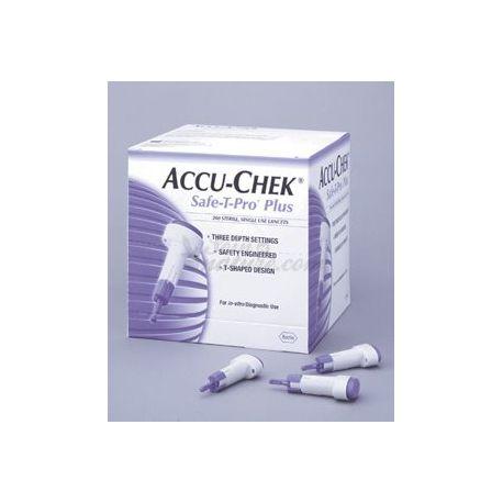 Accu-Chek SAFE-T-PRO Acte Breakers un sol ús