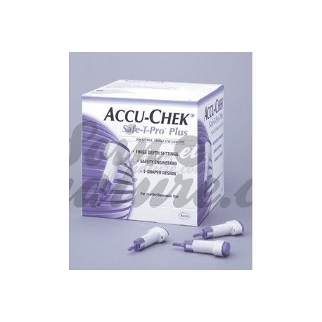Accu-Chek SAFE-T-PRO Auto Breakers usa e getta