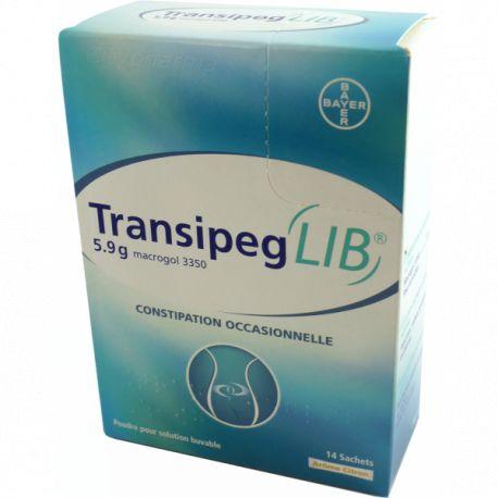 Transipeg 5,9 g LIMÃO 14 SACOS