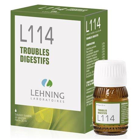 L114 TROUBLES DIGESTIFS Homéopathie LEHNING