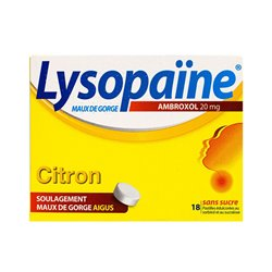 LYSOPADOL CASSIS 20MG ТАБЛЕТКИ без сахара