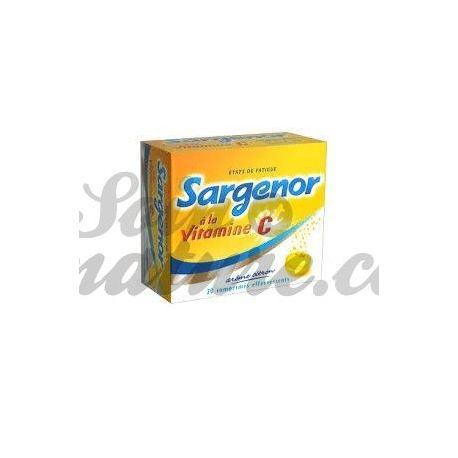 Sargenor vitamine C tabletten 20 SPARKLING