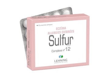 Lehning 12 SULFUR homeopathic complex