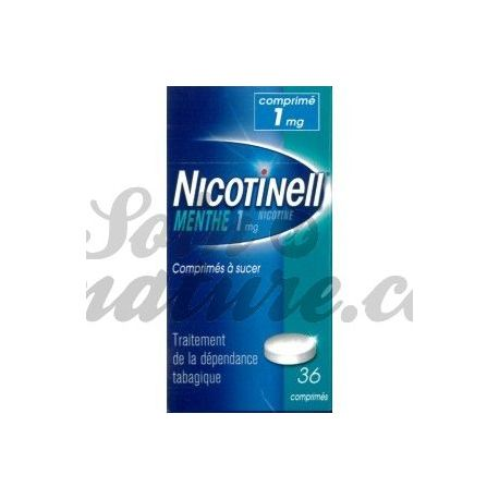 NICOTINELL 1MG MENTHE 36 COMPRIMÉS A SUCER