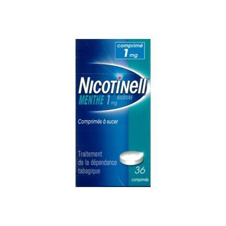 Nicotinell MINT 36 pastilles d'1 mg una mamada