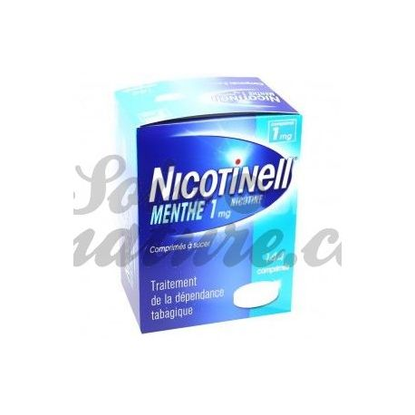 NICOTINELL 1 MG MENTHE 144 COMPRIMÉS A SUCER