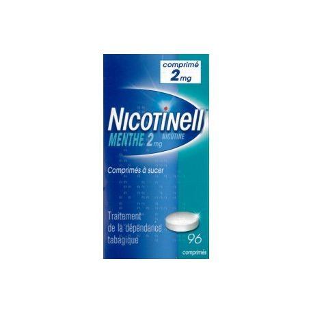 Nicotinell 96 TAULETES 2mg MINT una mamada