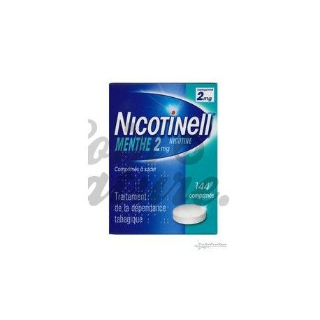 NICOTINELL 2MG MENTHE 144 COMPRIMÉS A SUCER