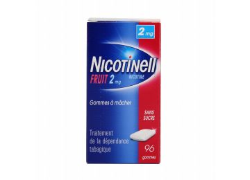 Nicotinell 96 2MG FRUIT SUGAR FREE CHEWING GUM