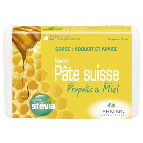 Pâte Suisse Huiles Essentielles propolis-miel Lehning