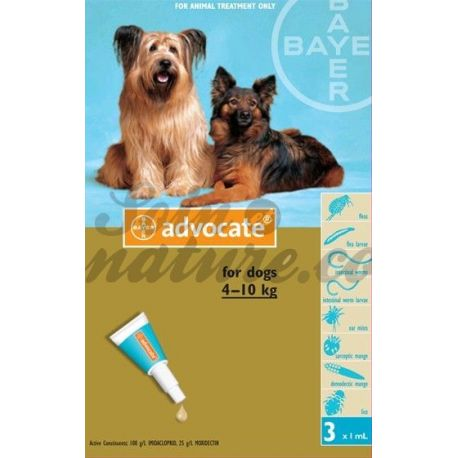 ABOGADO DEL PERRO MEDIANO 3 PIPETAS 1ML BAYER