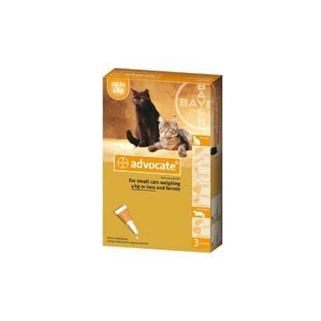 ADVOCATE PETIT CHAT BAYER 3 PIPETTES DE 0.4 ML