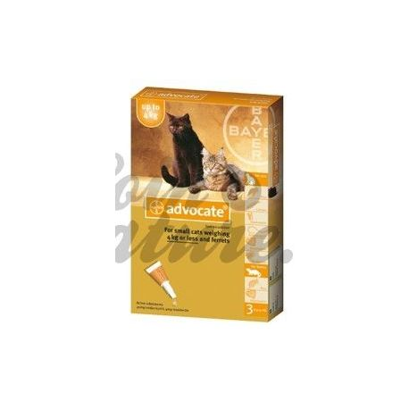 ANWALTS LITTLE CAT 3 BAYER PIPETTEN 0,4 ML