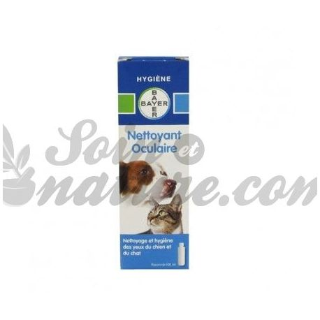 BAYER NETTOYANT OCULAIRE CHIEN CHAT