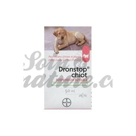 DRONSTOP PUPPY ORAL SUSPENSION 50ML BAYER