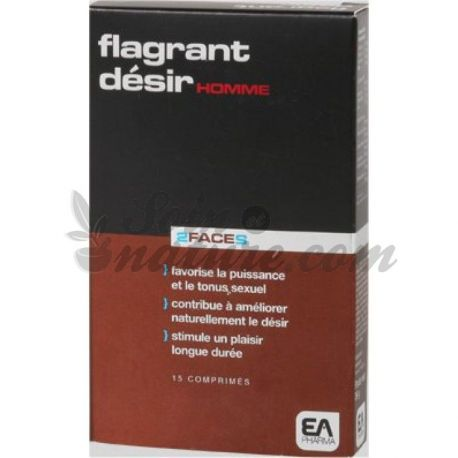 Flagrante DESIRE 2 FACES DO HOMEM 15 COMPRIMIDOS