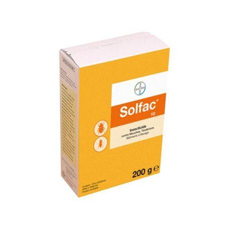 SOLFAC 10 PÓ 200G BAYER