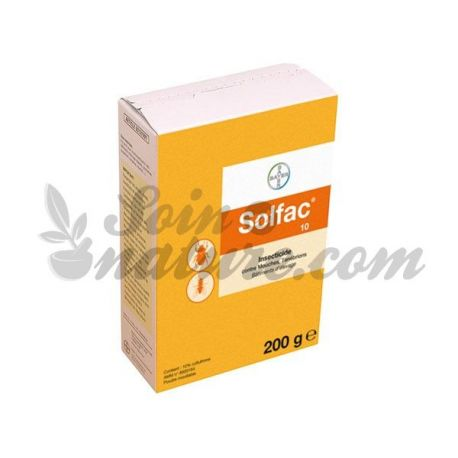 SOLFAC 10 POUDRE 200G BAYER