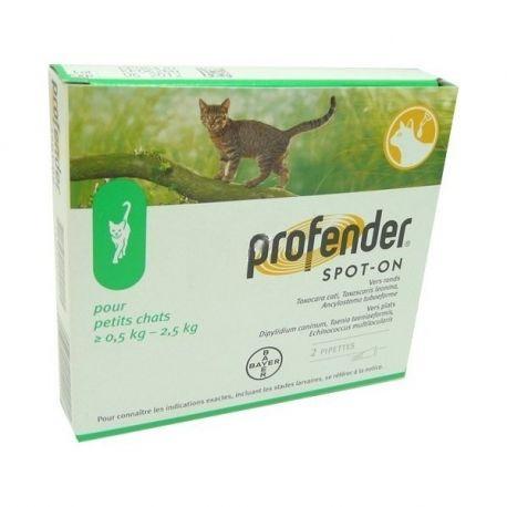 PROFENDER gato pequeno 2 PIPETTES BAYER