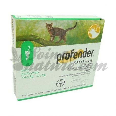 PROFENDER PICCOLO CAT 2 PIPETTES BAYER