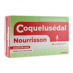COQUELUSEDAL nourrisson bébé suppositoire toux rhume