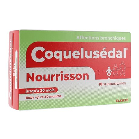 COQUELUSEDAL nourrisson bébé suppositoire toux rhume