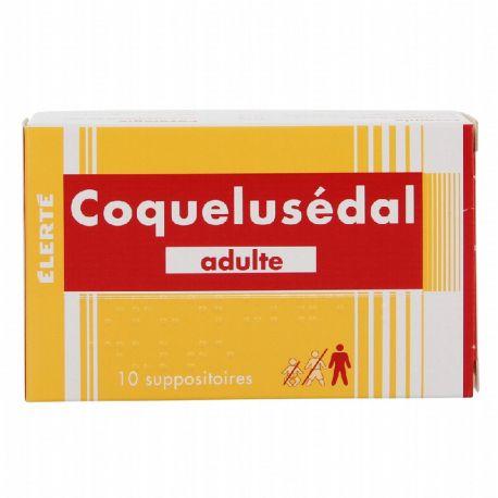 COQUELUSEDAL adults bronquitis supositori tos