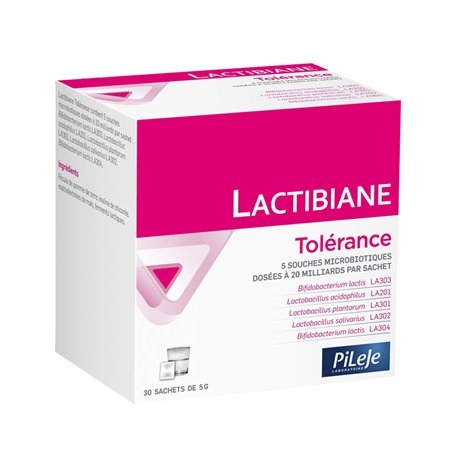 LACTIBIANE TOLERANCE PILEJE 30 SACHETS 5 G
