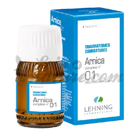 Lehning Arnica Complexe N°1 Traumatismes Courbatures