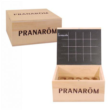 Biblioteca Aroma pequeño modelo Pranarom 20 aceites esenciales