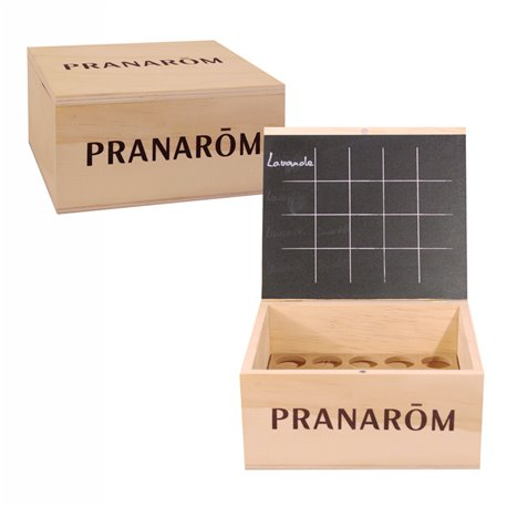 Biblioteca Aroma pequeno modelo Pranarom 20 óleos essenciais