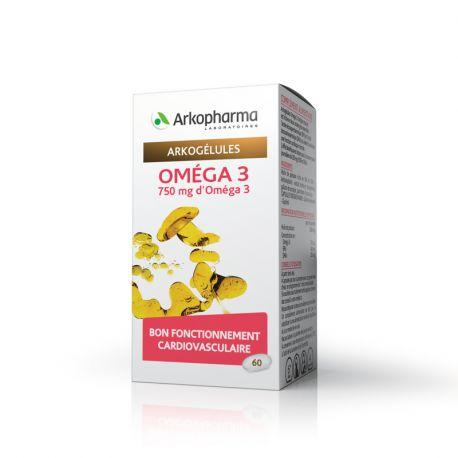 ARKOCAPSULE TRIGLICERIDI OMEGA 3/60 COLESTEROLO CAPS Arkopharma