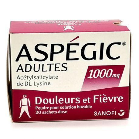 Aspegic 1 Erwachsener 000mg TASCHEN