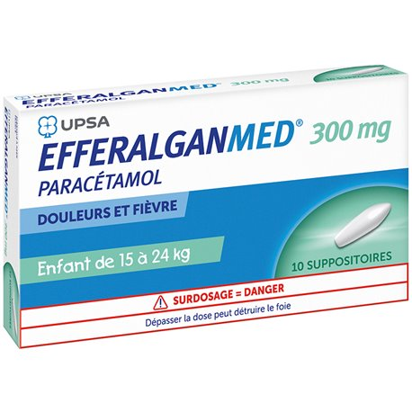 Dafalgan 300mg SUPOSITORIS 10