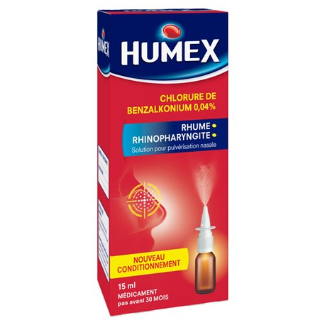 HUMEX 0,04% PULVERISATION NASALE 15ML