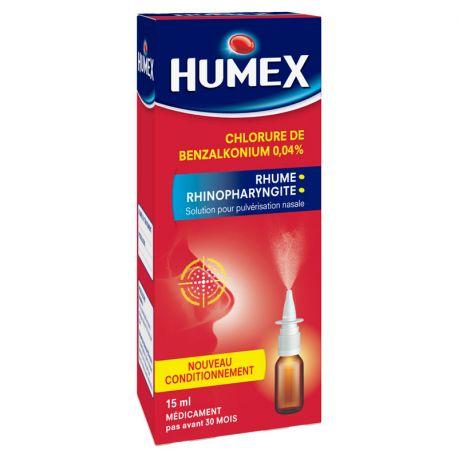 HUMEX 0,04% Sprühstoß Nasen 15ML