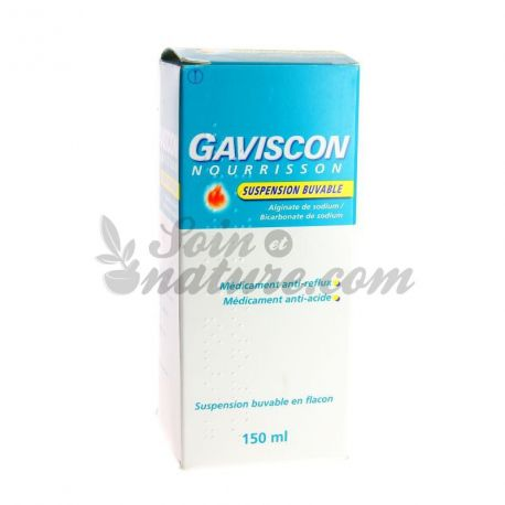 Gaviscon ORAL SUSPENSION INFANT FLES 150ML
