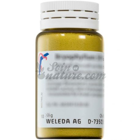 Weleda Antimoon metallicum D4 D6 Homeopathische Orale poeder Malen