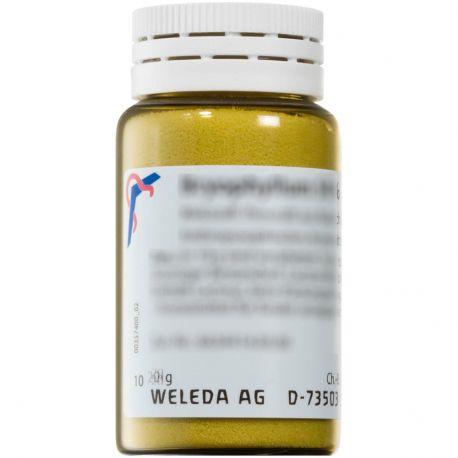 A trituração WELEDA calcopirita D6 Homeopática pó Oral
