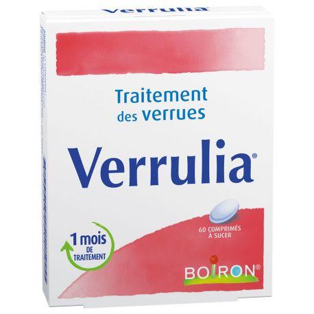 VERRULIA HOMEOPATHIE BOIRON 60 COMPRIMÉS