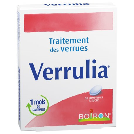 VERRULIA HOMEOPATHIE BOIRON 60 TABLETS