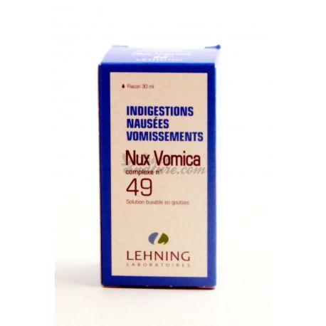 COMPLEX Nux vomica N 49 30 ml