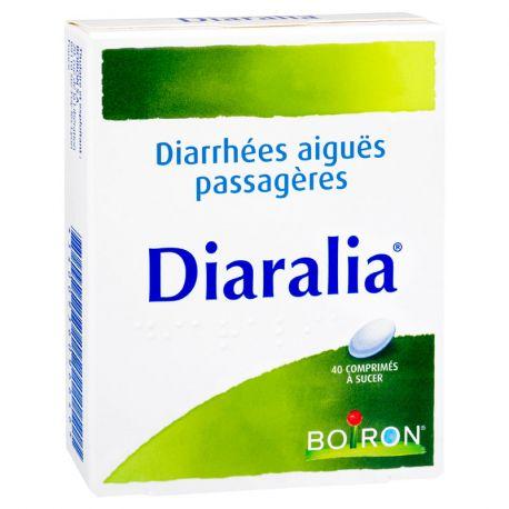 DIARALIA 40 CP DIARRHEES AIGUES HOMEOPATHIE BOIRON