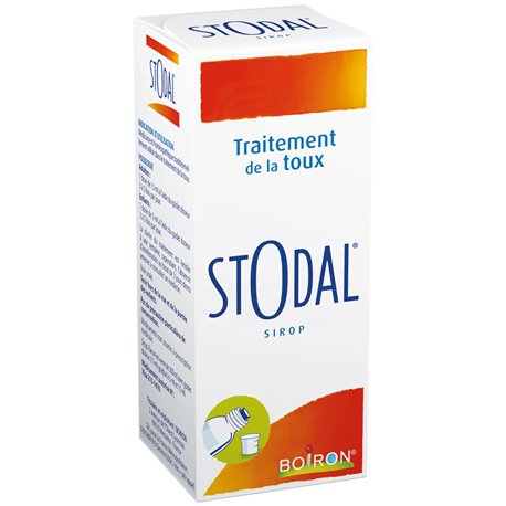 Stodal STROOP HOMEOPATHIE Boiron