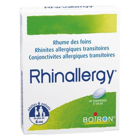 RHINALLERGY Boiron HOMEOPATHIE 40 CP