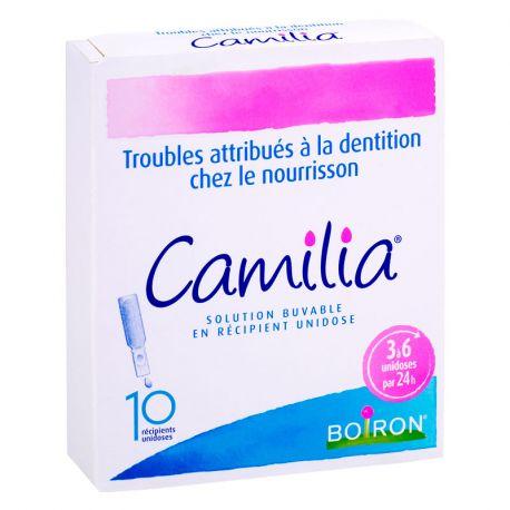 CAMILIA 10 unidosis homéopathie Boiron