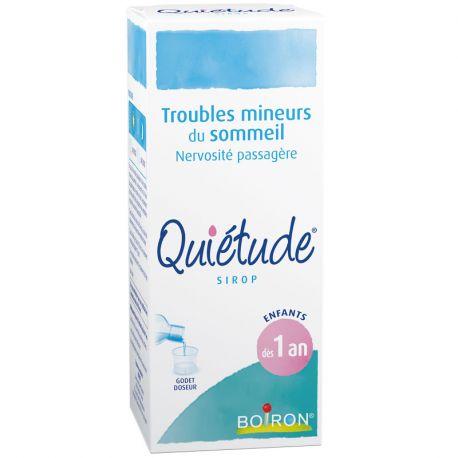 QUIETUDE TROUBLES SOMMEIL SIROP 200ML HOMEOPATHIE BOIRON