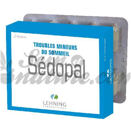 Sedante SEDOPAL planta 40 cápsulas LEHNING